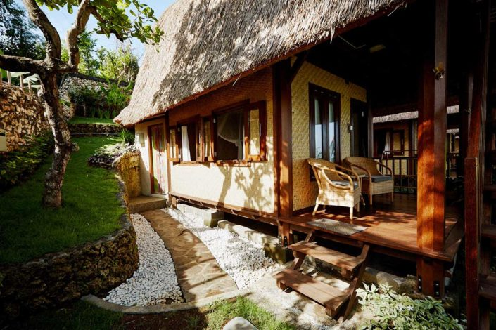 Kamafari Surfcamp Bali | Classic Double room terrace