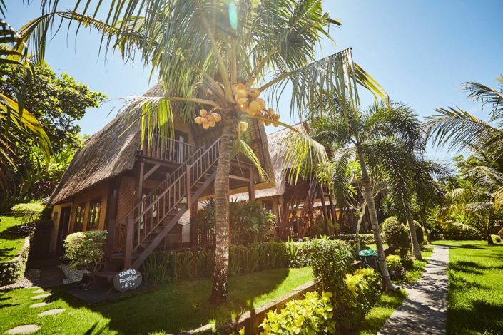 Kamafari Surfcamp Bali | Our tropical garden