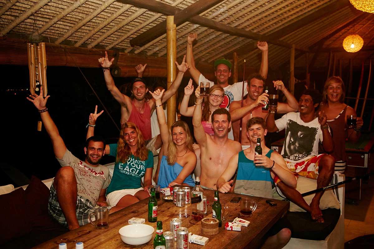 Kamafari Surfcamp Bali | Partytime sometimes