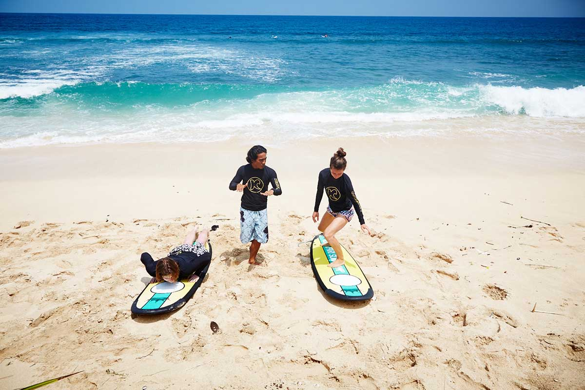 Kamafari Surfcamp Bali | Surf training