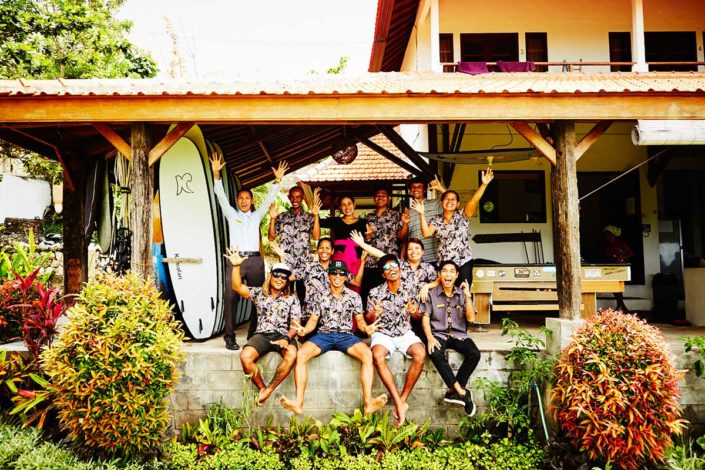 Kamafari Surfcamp Bali | Our Team