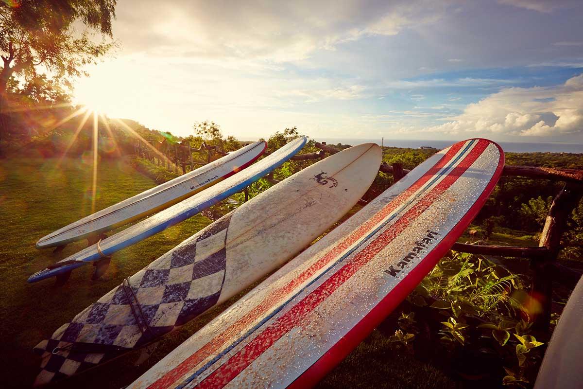 Kamafari Surfcamp Bali | Sunsettime