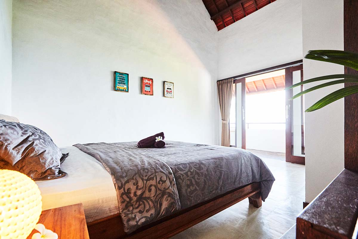 Kamafari Surfcamp Bali | Oceanview room