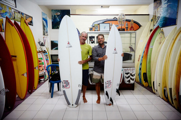 Buy cheap surfboard with high quality on Bali