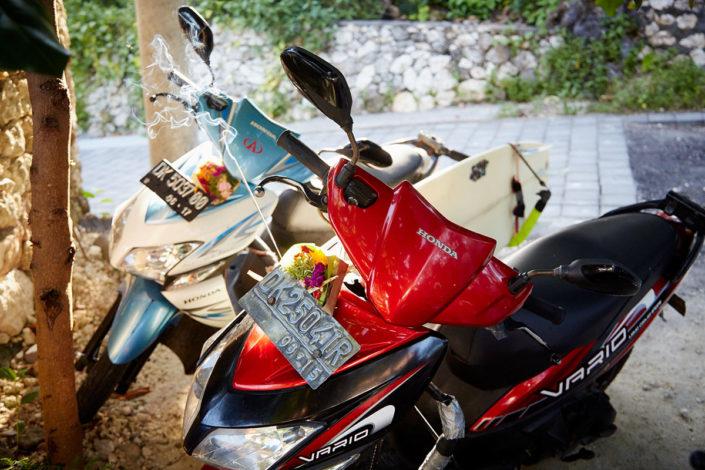 motorbikes surfcamp bali