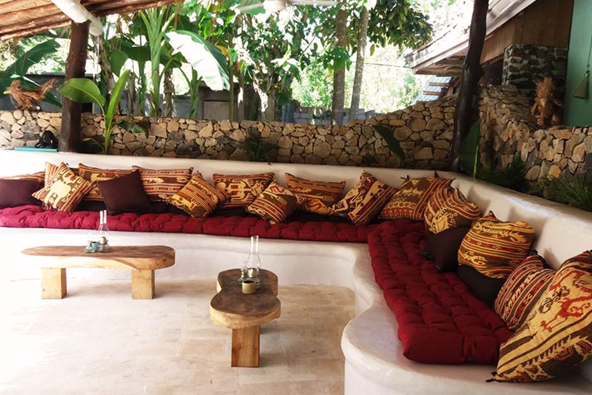 Surfcamp Lombok | Chill area