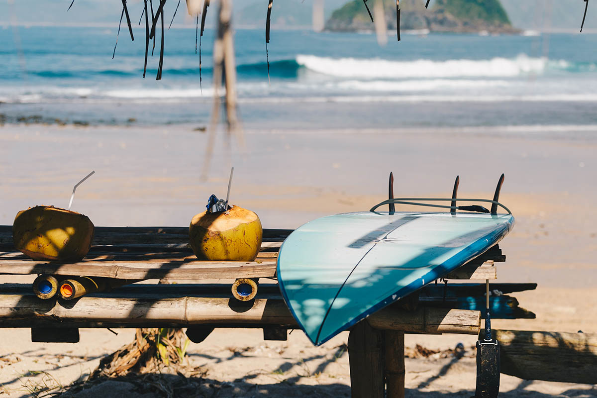 Surfcamp Lombok | Beach