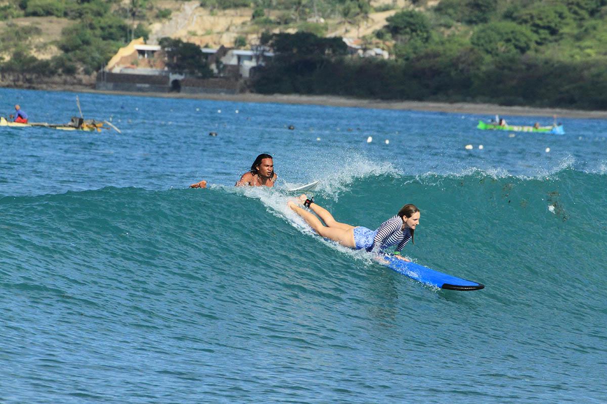 Surfcamp Lombok | Surf lessons